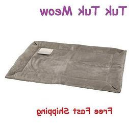 Pets Self Warming Crate Pad Dog Cat Bed Pet Mat Warm Body He