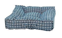Bowsers Piazza Dog Bed, X-Large, Atlantis