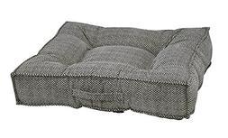 Bowsers Piazza Dog Bed, X-Large, Herringbone