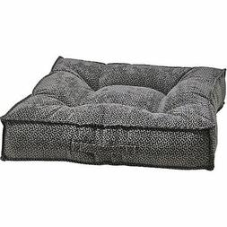 Bowsers Piazza Pewter Bones Dog Bed