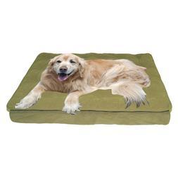 Carolina Pet Company Pillow Top Dog Pet Bed Sage
