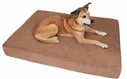 Big Barker Pillow Top Orthopedic Dog Bed, Khaki - Extra Larg