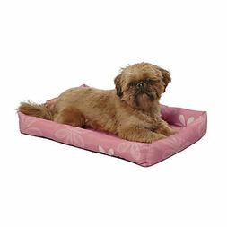 Midwest Pink Floral Paradise Dog Bed