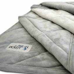 Premium Plus Quilted Medium Dog Blanket . Light Inner Fill 7