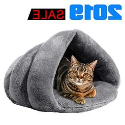 iphonepassteCK Plush Cat Bed Soft Pet Bed for Winter Cozy Sl