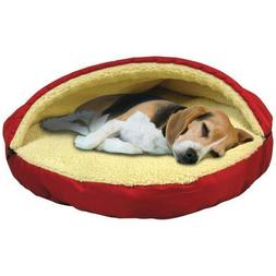 Trademark Global Plush Cave Pet Bed