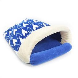 Milliard Premium Plush Covered Cat Cave/Enclosed Dog Burrow/