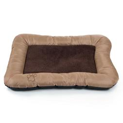 Plush Cozy Pet Dog Pet Bed - Tan - Extra Large 43 x 29 Inche