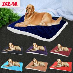 Plush Dog Bed Warm Soft Large Pets Cat Cushion Sleeping Mat