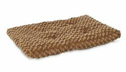 Petmate PLUSH KENNEL MAT Pet Dog Bed Polyester Fiber Brown -