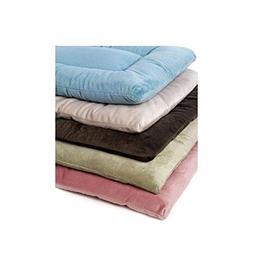 Pet Dreams Plush Sleep Ezz Dog Crate Pad - Extra Small/Dusty