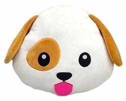 Poop Emoji Smiley Emoticon Round Cushion Pillow Stuffed Cute