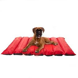 Favorite Portable Roll Up Waterproof Dog Bed Mat Cushion Ind