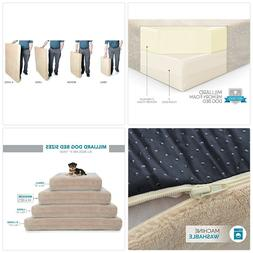 Milliard Premium Orthopedic Memory Foam Dog Bed with Anti-Mi