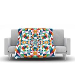 "Kess InHouse Project M ""Modern Day"" Fleece Throw Blanket, 80"