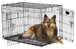 """Petmate""""ProValu"""" Wire Dog Crate, Two Doors, Precision Lock S"""