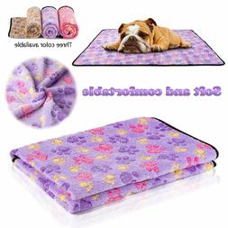 Puppy Blanket for Pet Cushion Small Dog Cat Bed Soft Warm Sl