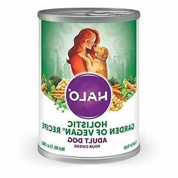 Halo Purely for Pets Natural Canned Dog Food, Vegan Garden M
