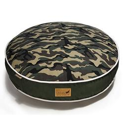 P.L.A.Y. PY0006BSF Round Bed Change-a-Cover- Camouflage- Gre