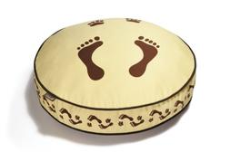 P.L.A.Y. PY0007AMF Round Bed Change-a-Cover- Footprint- Brow