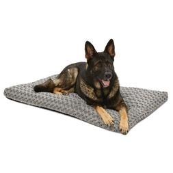 Quiet Time Ombre Swirl Dog Bed in Grey - Size: X-Large - 29