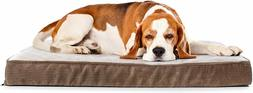quilted padded orthopedic dog bed
