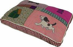Petmate QUILTED PET BED Quality Cozy Dog Novelty Zipped Cove