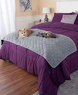 Quilted Pet Bed Scarf
