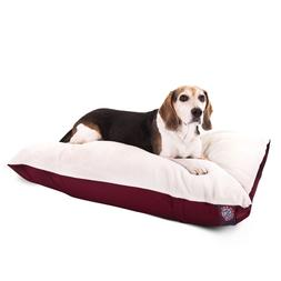 "Majestic Pet Products Rectangle Dog Bed size: 30""L x 40""W x"