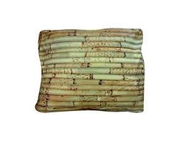 Rectangular Bamboo Dog Bed