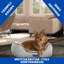 """Rectangular Dog Bed Kirkland Signature 21"""" x 25"""" Comfort and"""
