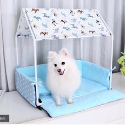Removable Pet Houses Pet Kennel Cage Dog&Cat Shelter Pet Bed