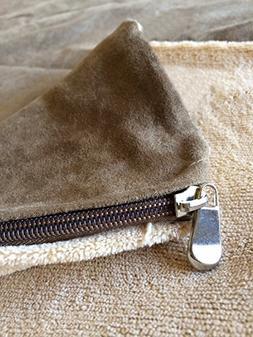 Replacement Beige Coral Fleece Micro Plush MicroSuede Extern