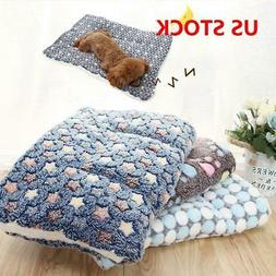 S-XL Cute Dog Cat Pet Soft Bed Mat Pillow Cushion Mattress S