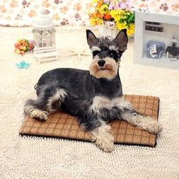 S-XL Pet Dog Bed Cushion Mat Pad Puppy Cat Kennel Crate Cozy
