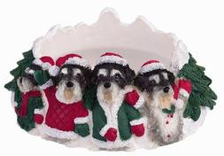 Schnauzer Uncropped Pet Candle Topper
