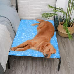 Self Cooling Dog Bed Mat Pet Cat Non-Toxic Gel Pad Comfort C