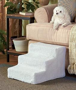 Sherpa-Covered Pet Steps by GetSet2Save