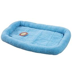 Slumber Pet Sherpa Crate Beds  -  Comfortable Bumper-Style B