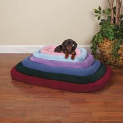 Slumber Pet Sherpa Crate Pet Bed with Bumper-Style Cushionin