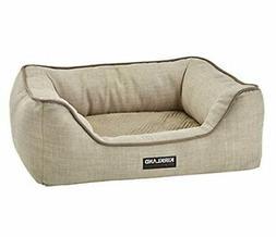 KIRKLAND Signature Dog Bed Napper Luxury Upholstery Removabl