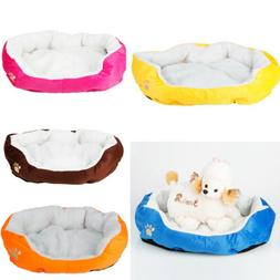 Small/Medium/Large Pet Bed Dog Cat Puppy Bed House Kennel Do