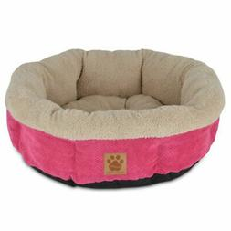 Precision Pet SnooZZy Mod Chic Round Shearling Cup Bed