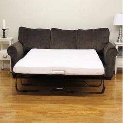 "Modern Sleep 4-1/2"" Sofa Bed Memory Foam Mattress. Replaceme"