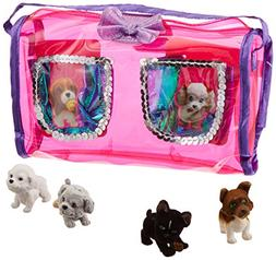 Puppy In My Pocket Soft Carrier Cute Puppy Set  by Puppy In