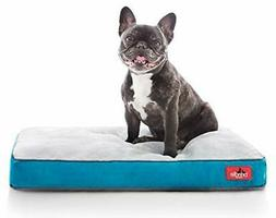 BRINDLE Soft Categories Memory Foam Dog Bed with Removable W