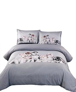 Ammybeddings 5PCS Soft Comforter Sets Twin Size,Modern Luxur