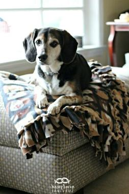 Soft Warm Fleece blanket for puppies dogs cats crate blanket