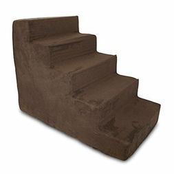 Best Pet Supplies ST200T-L Foam Pet Stairs/Steps, 5-Step, Da