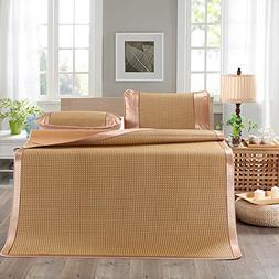Summer Sleeping Mat and 2 Pillowcases Total 3 Sets, Single F